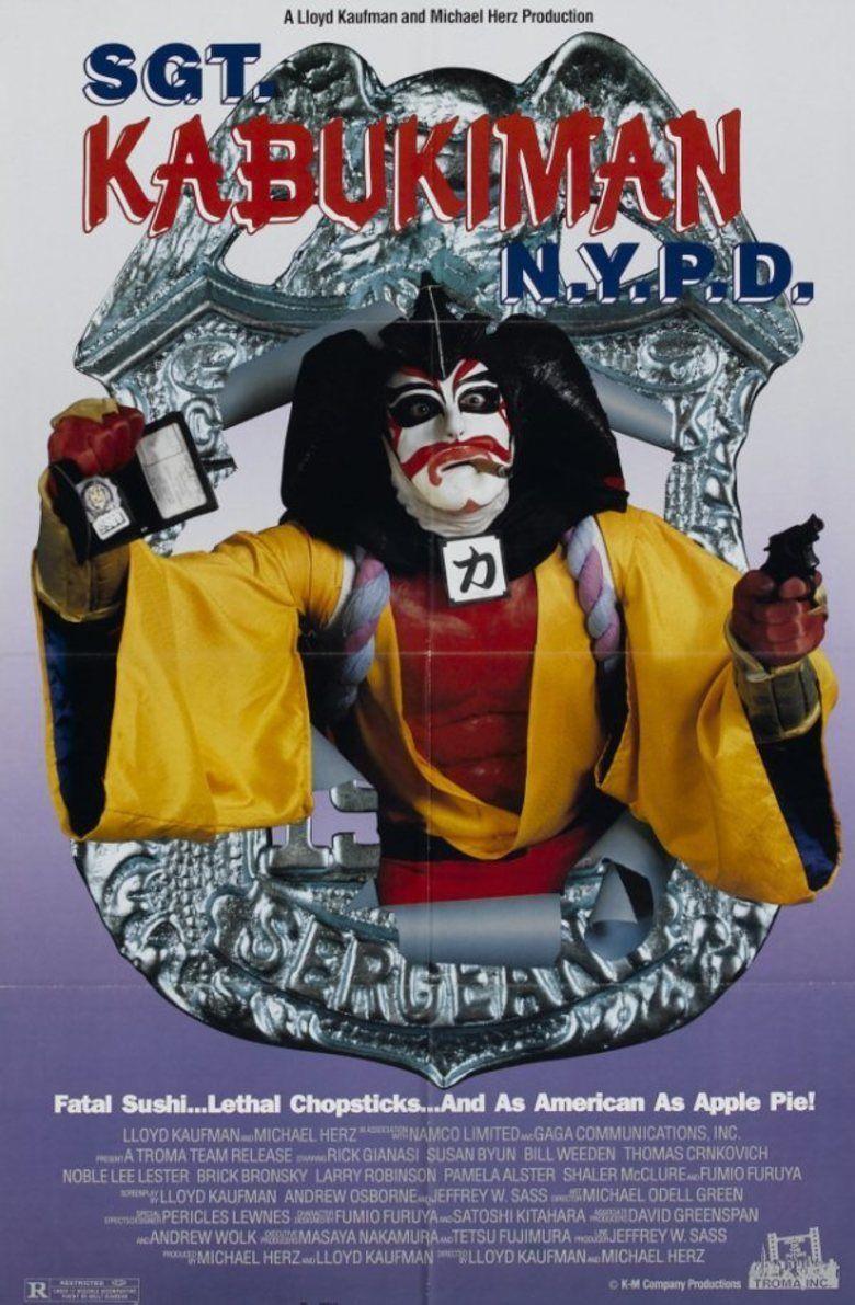 Sgt Kabukiman NYPD movie poster