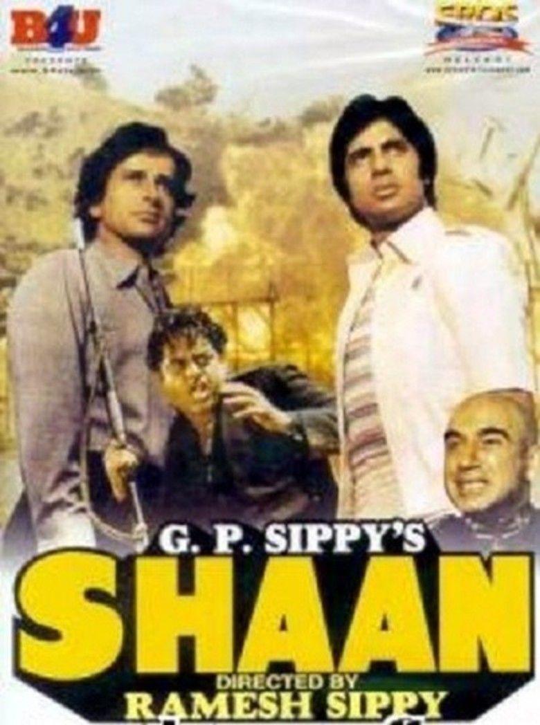 Shaan (film) movie poster