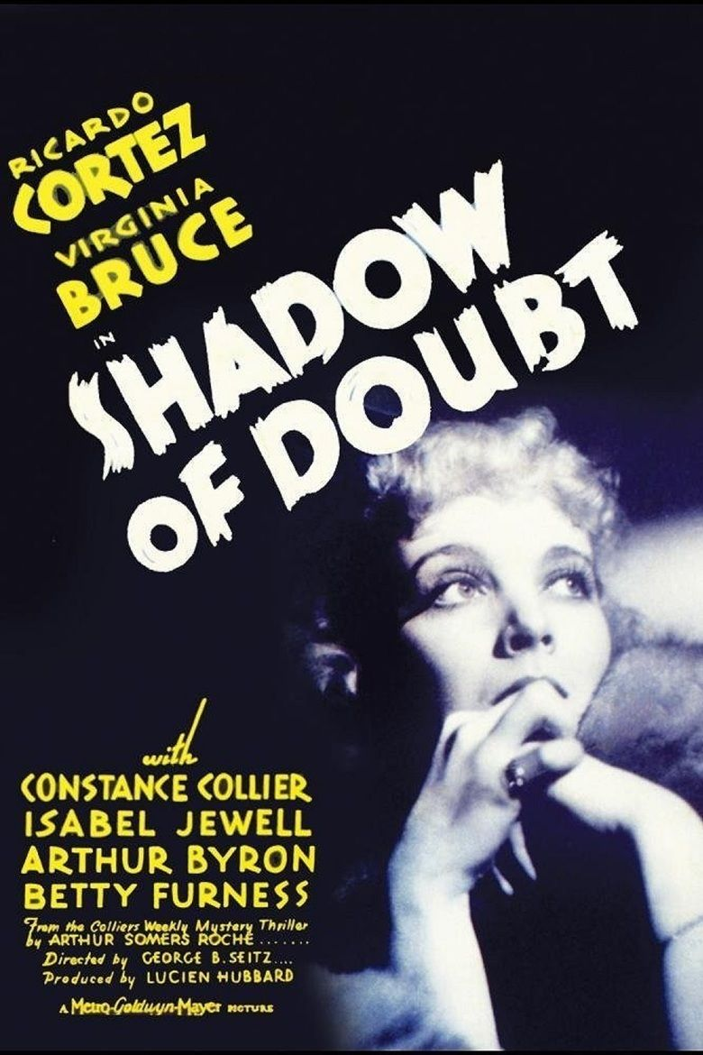 Shadow of Doubt (1935 film) movie poster