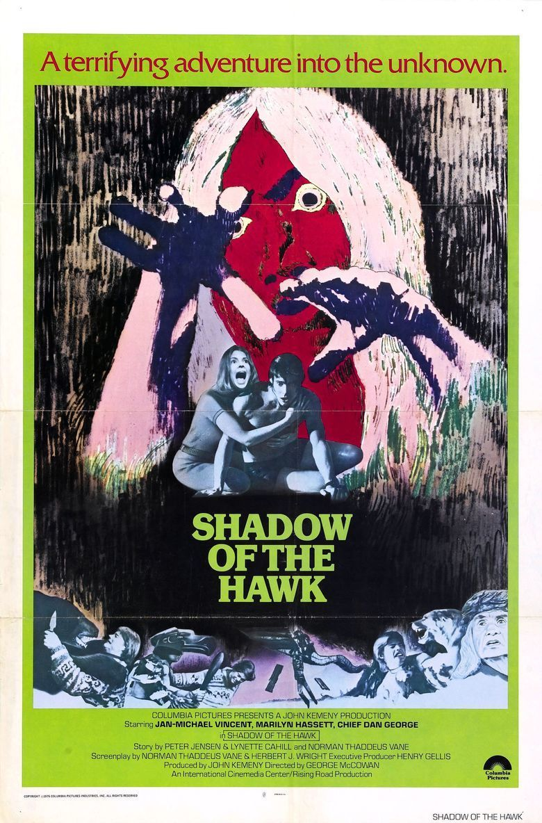 Shadow of the Hawk movie poster