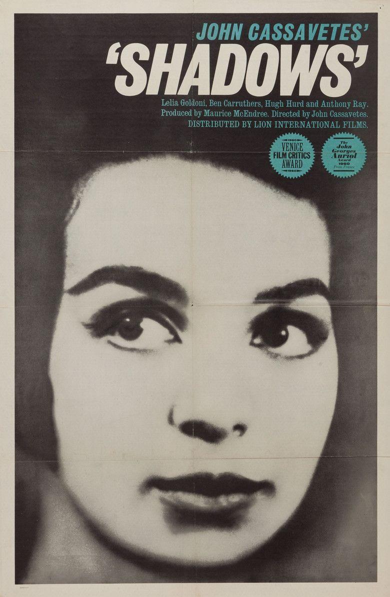 Shadows (1959 film) movie poster