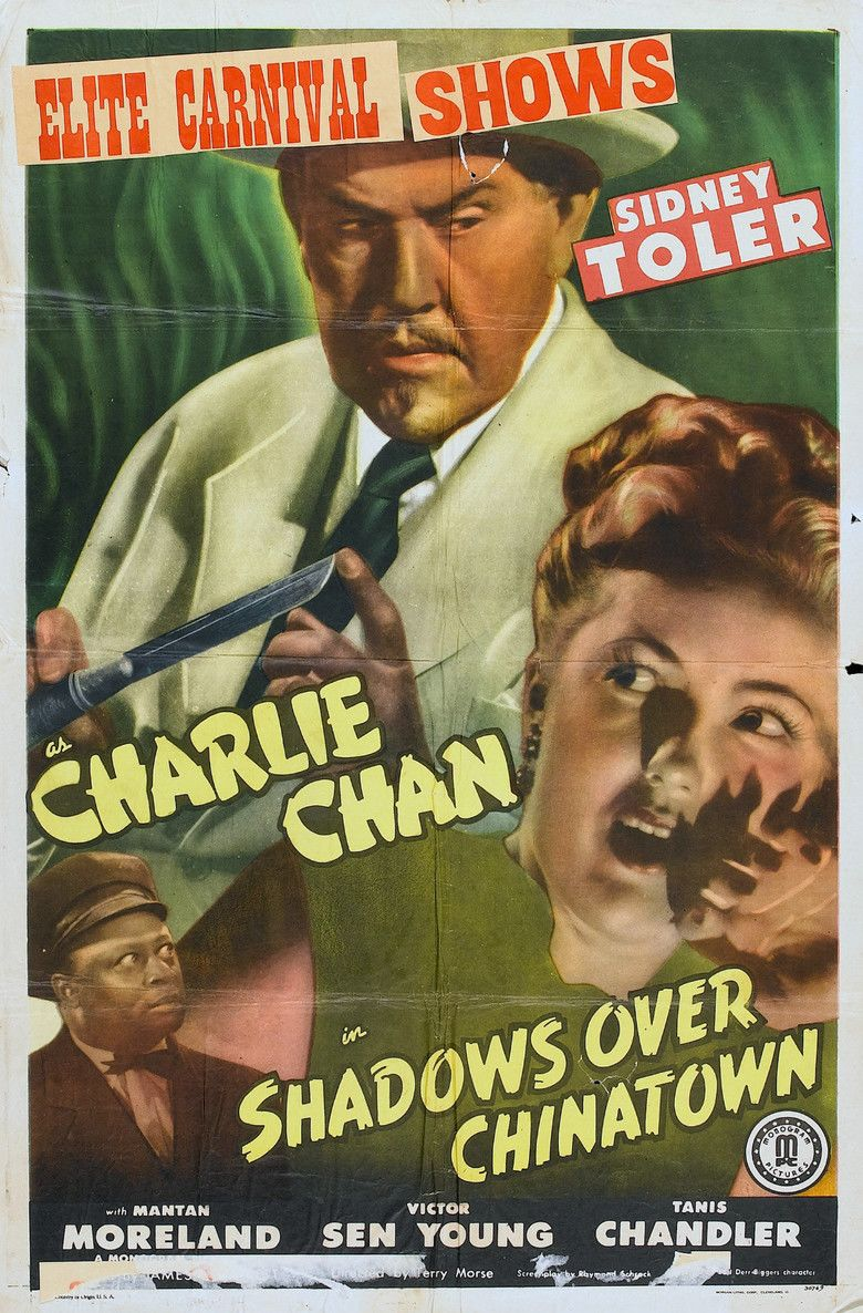 Shadows Over Chinatown movie poster