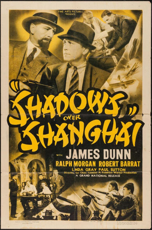 Shadows Over Shanghai movie poster