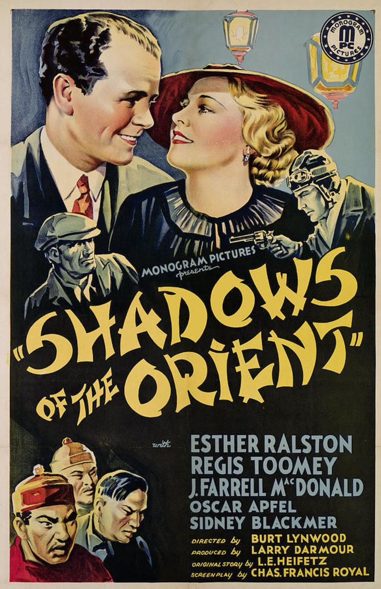 Shadows of the Orient movie poster
