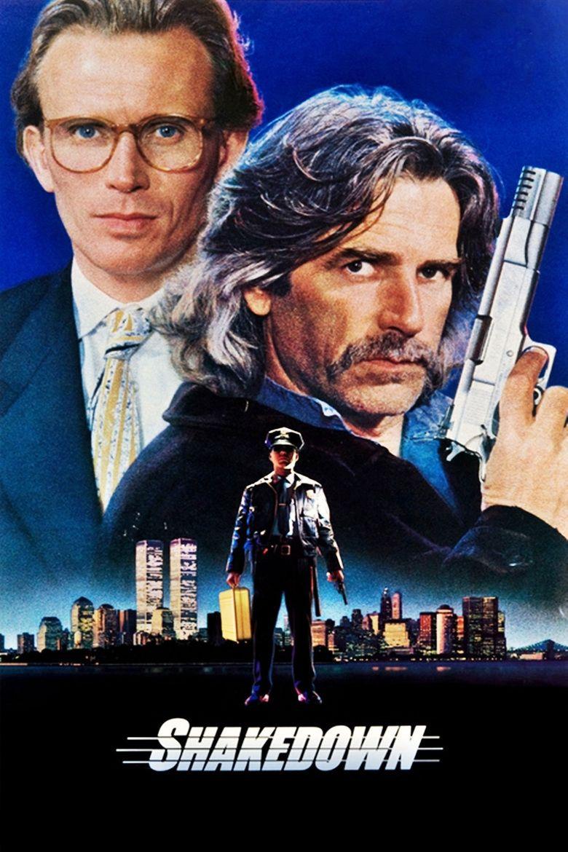 Shakedown (1988 film) movie poster