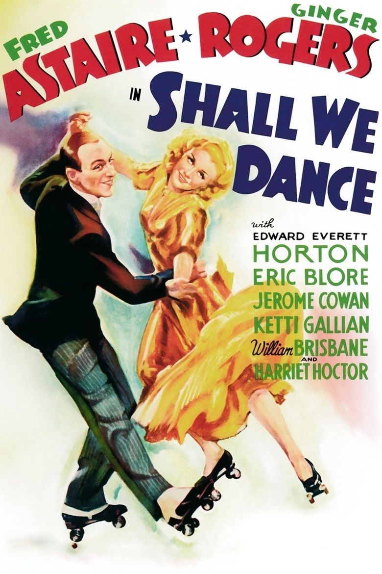 Shall We Dance (1937 film) movie poster