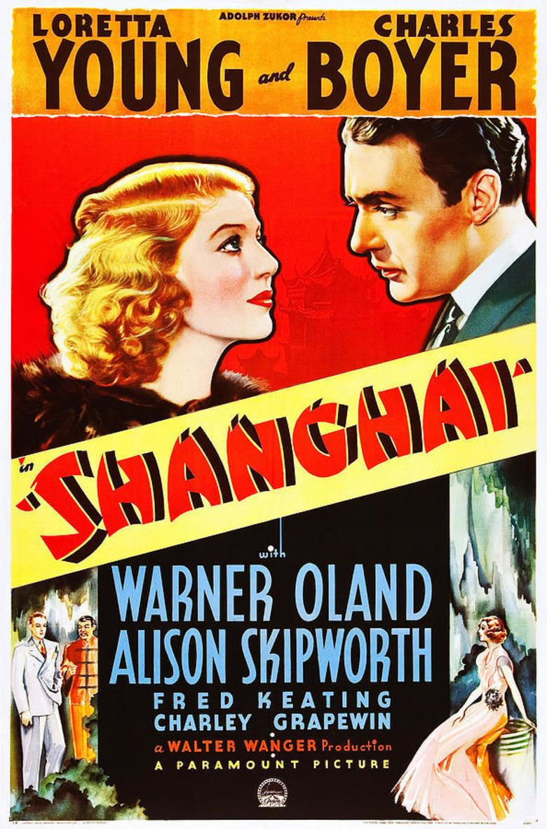 Shanghai (1935 film) movie poster