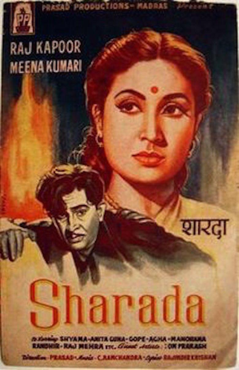 Sharada (1957 film) movie poster