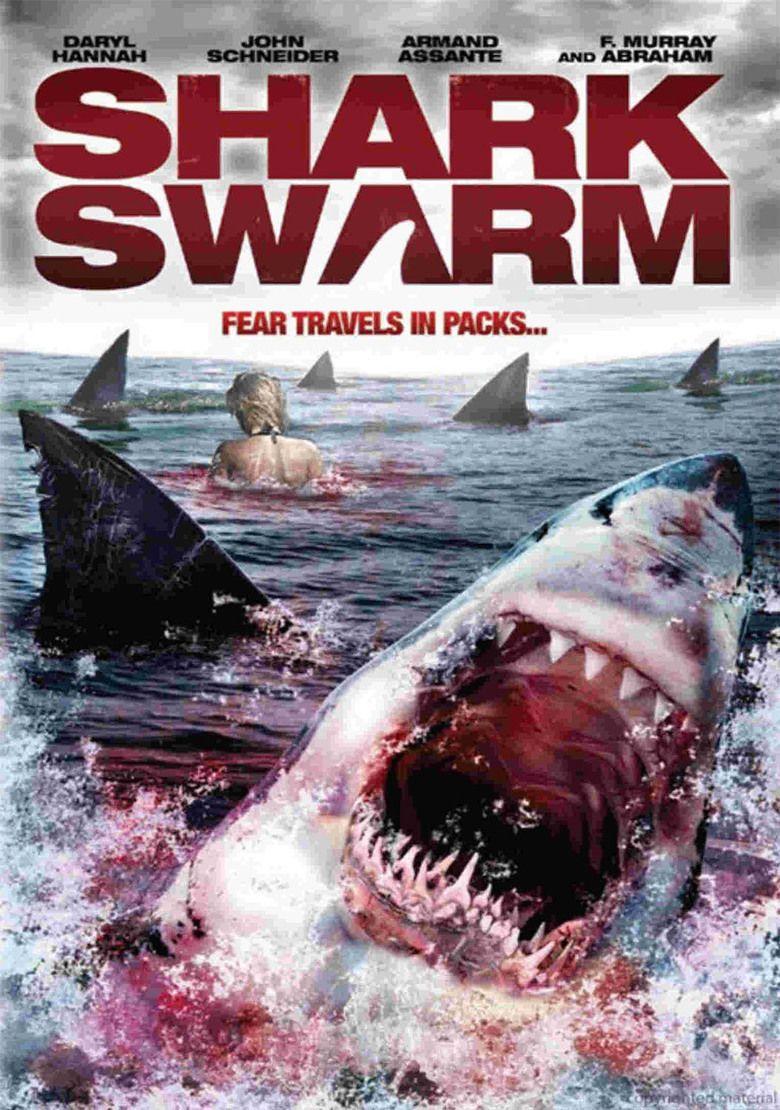 Shark Swarm movie poster
