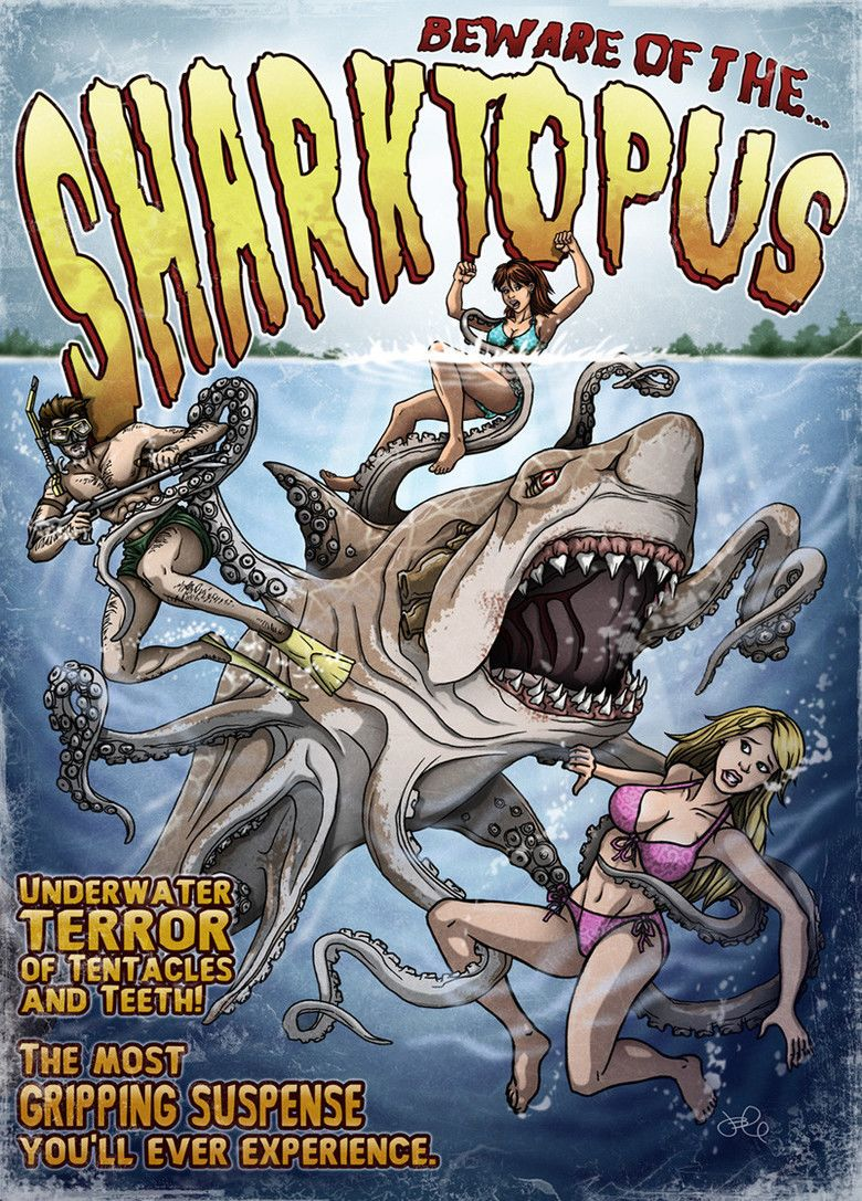 Sharktopus movie poster