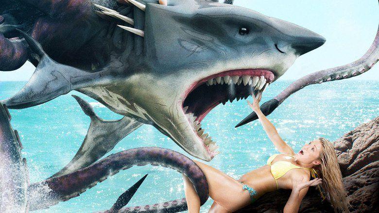 Sharktopus movie scenes
