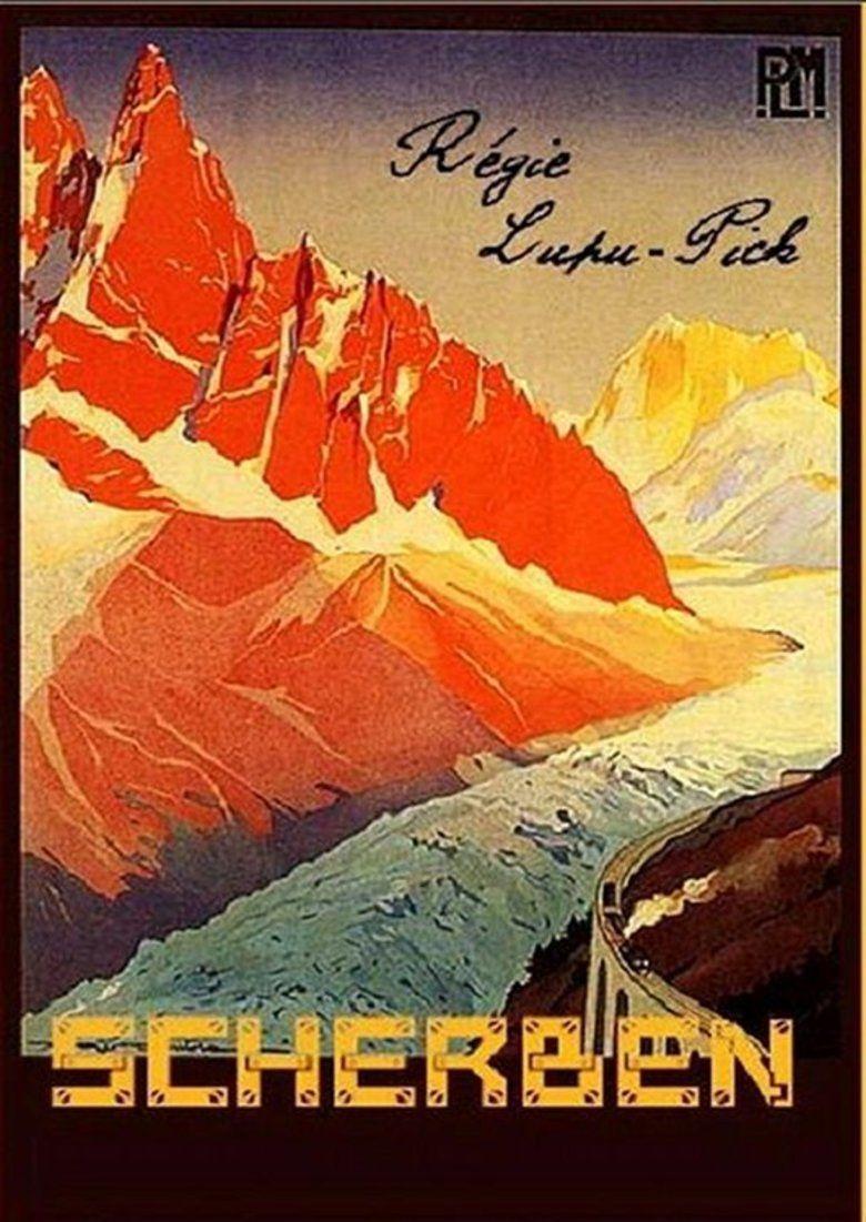 Shattered (1921 film) movie poster