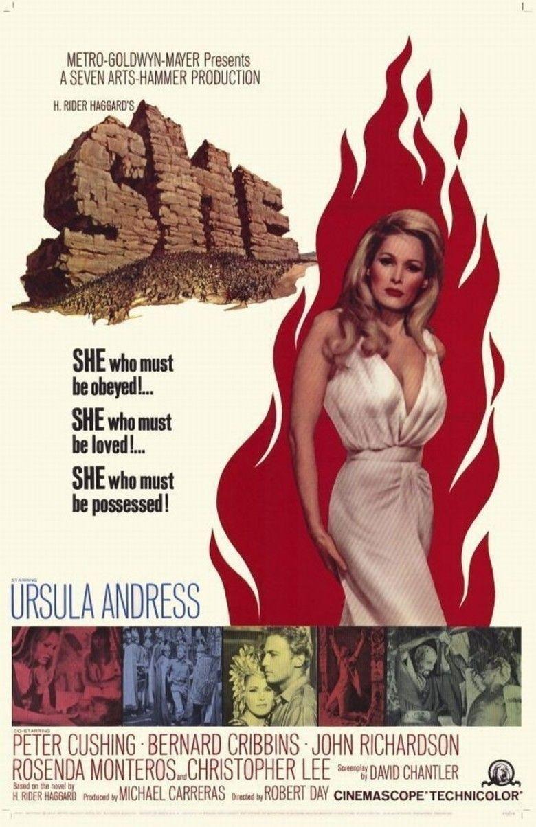 She (1965 film) movie poster