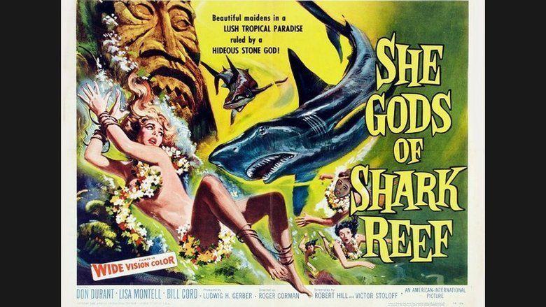 She Gods of Shark Reef movie scenes