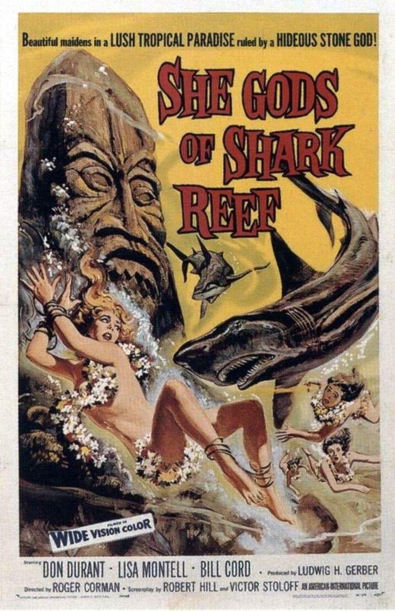 She Gods of Shark Reef movie poster