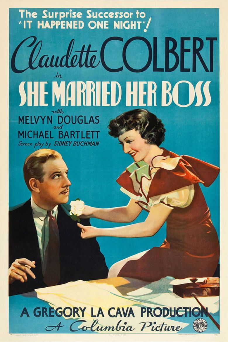 She Married Her Boss movie poster