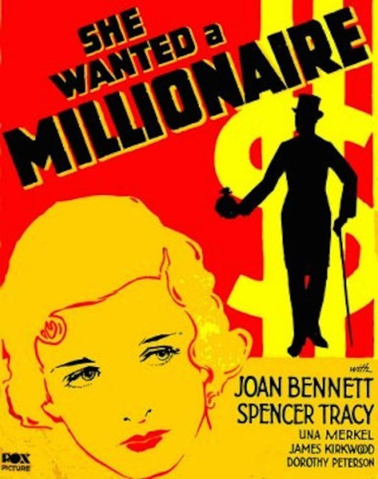 She Wanted a Millionaire movie poster