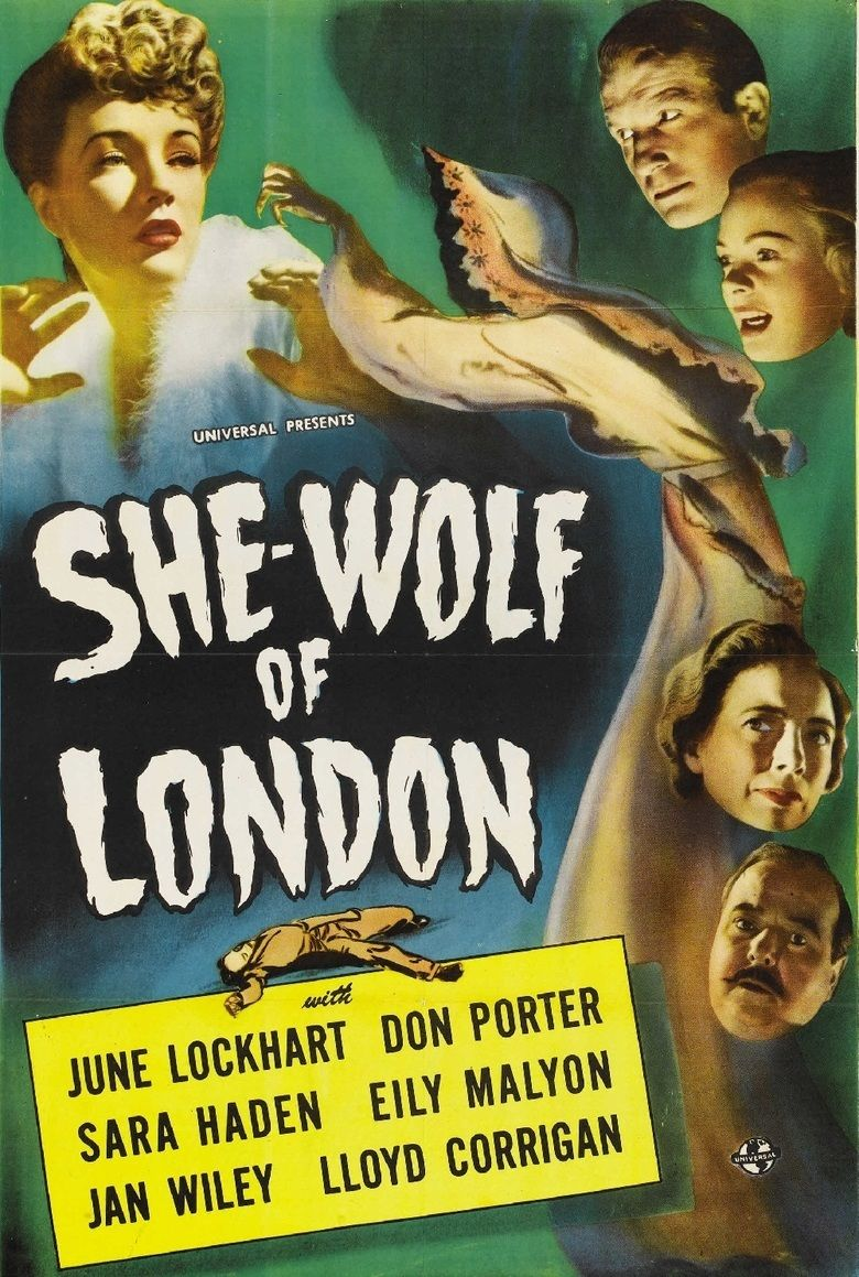 She Wolf of London (film) movie poster