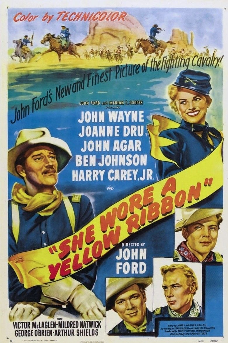 She Wore a Yellow Ribbon movie poster