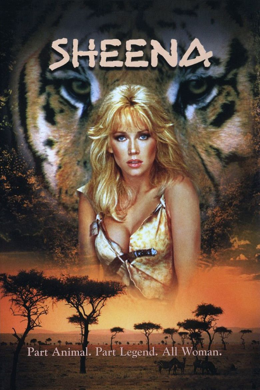 Sheena (film) movie poster