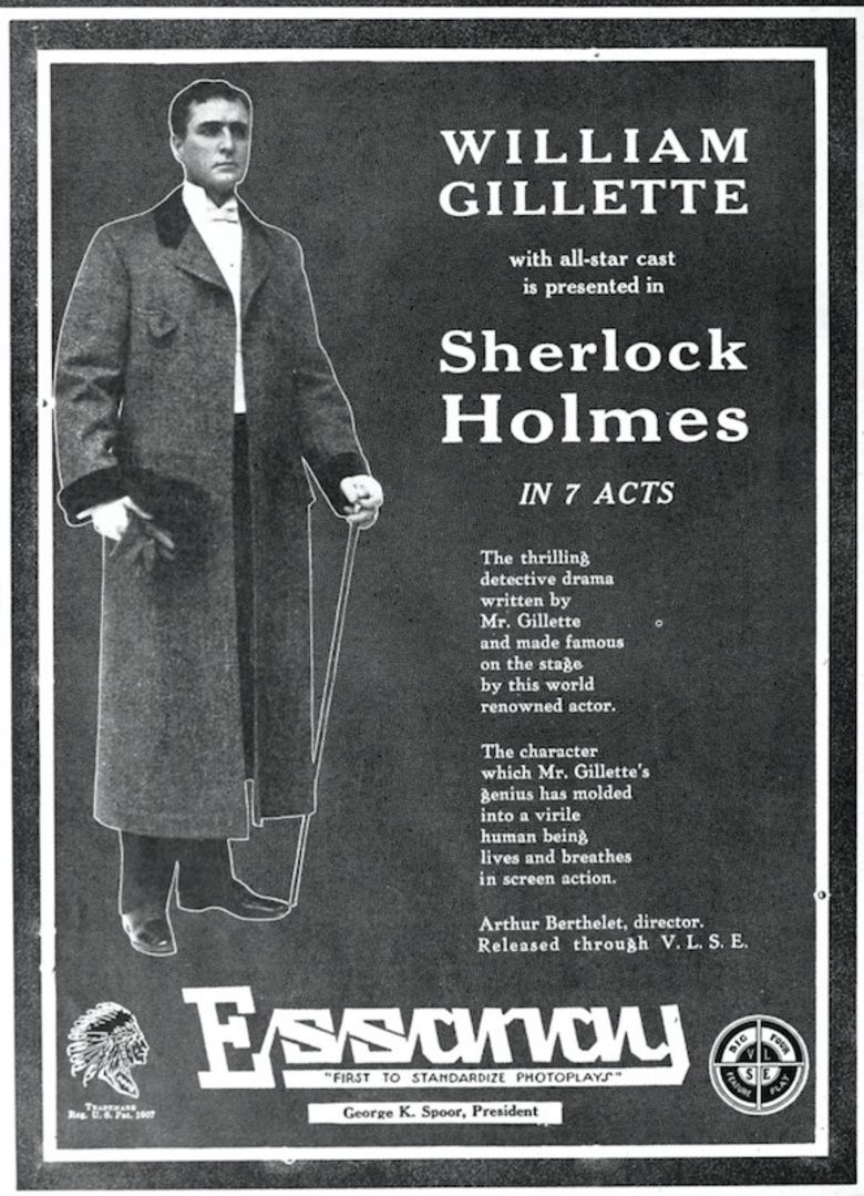 Sherlock Holmes (1916 film) movie poster
