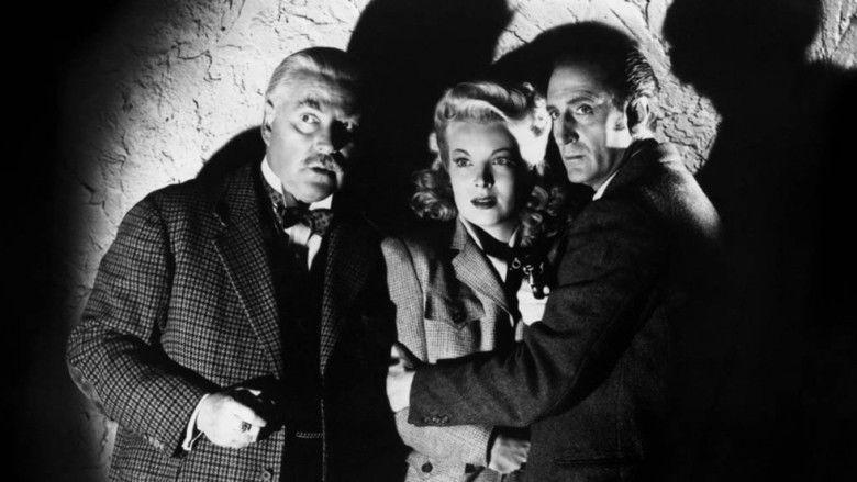 Sherlock Holmes Faces Death movie scenes