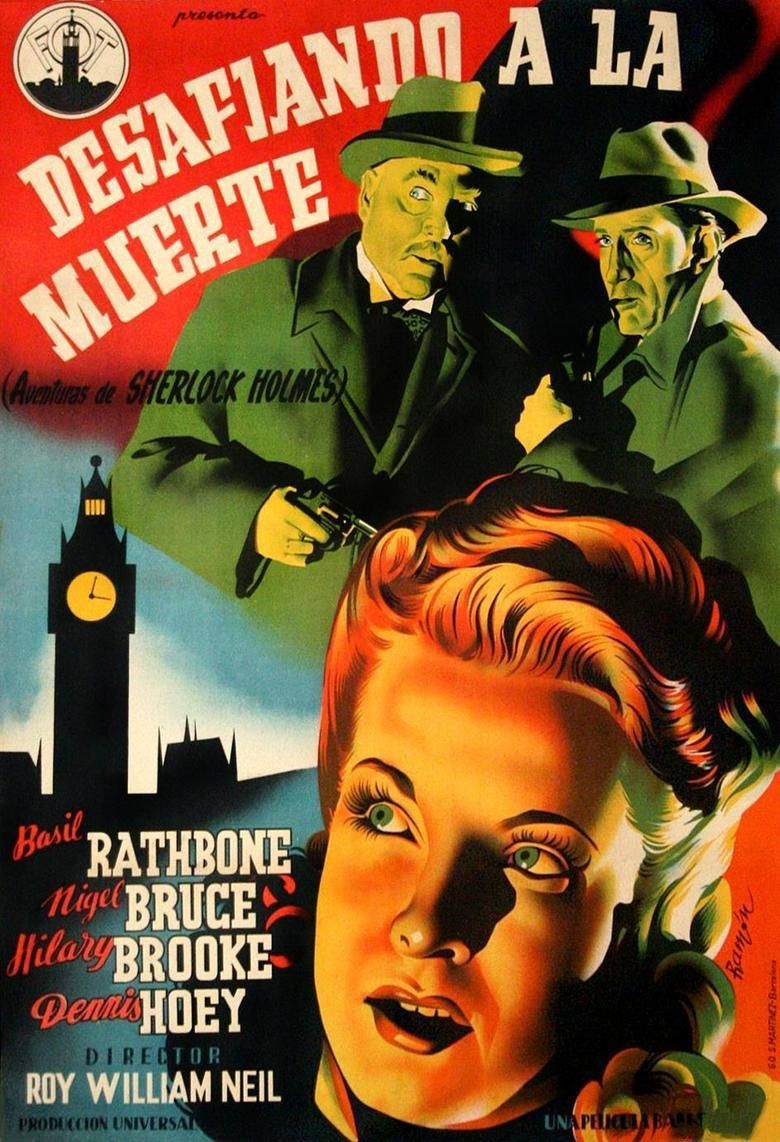 Sherlock Holmes Faces Death movie poster