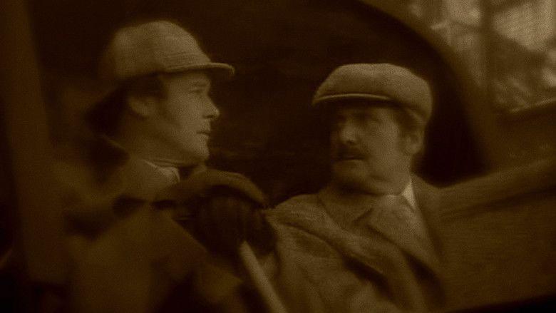 Sherlock Holmes in New York movie scenes