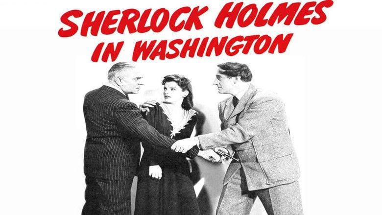 Sherlock Holmes in Washington movie scenes