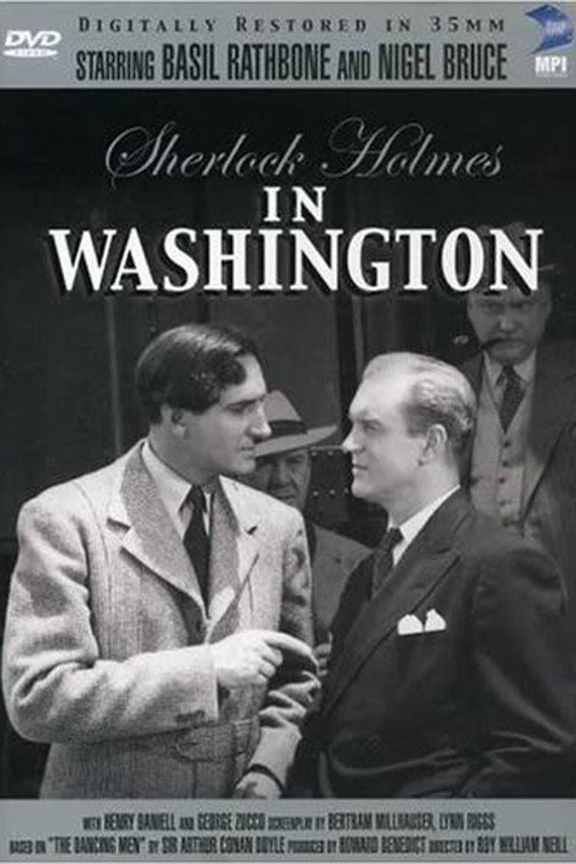 Sherlock Holmes in Washington movie poster
