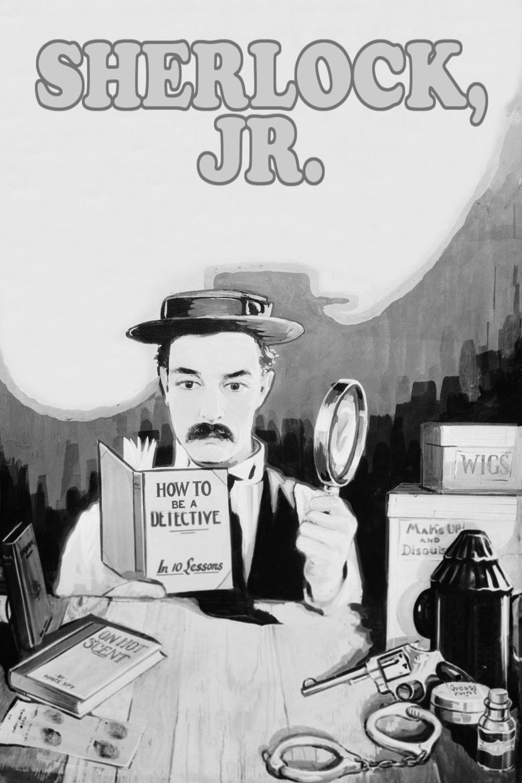 Sherlock Jr movie poster