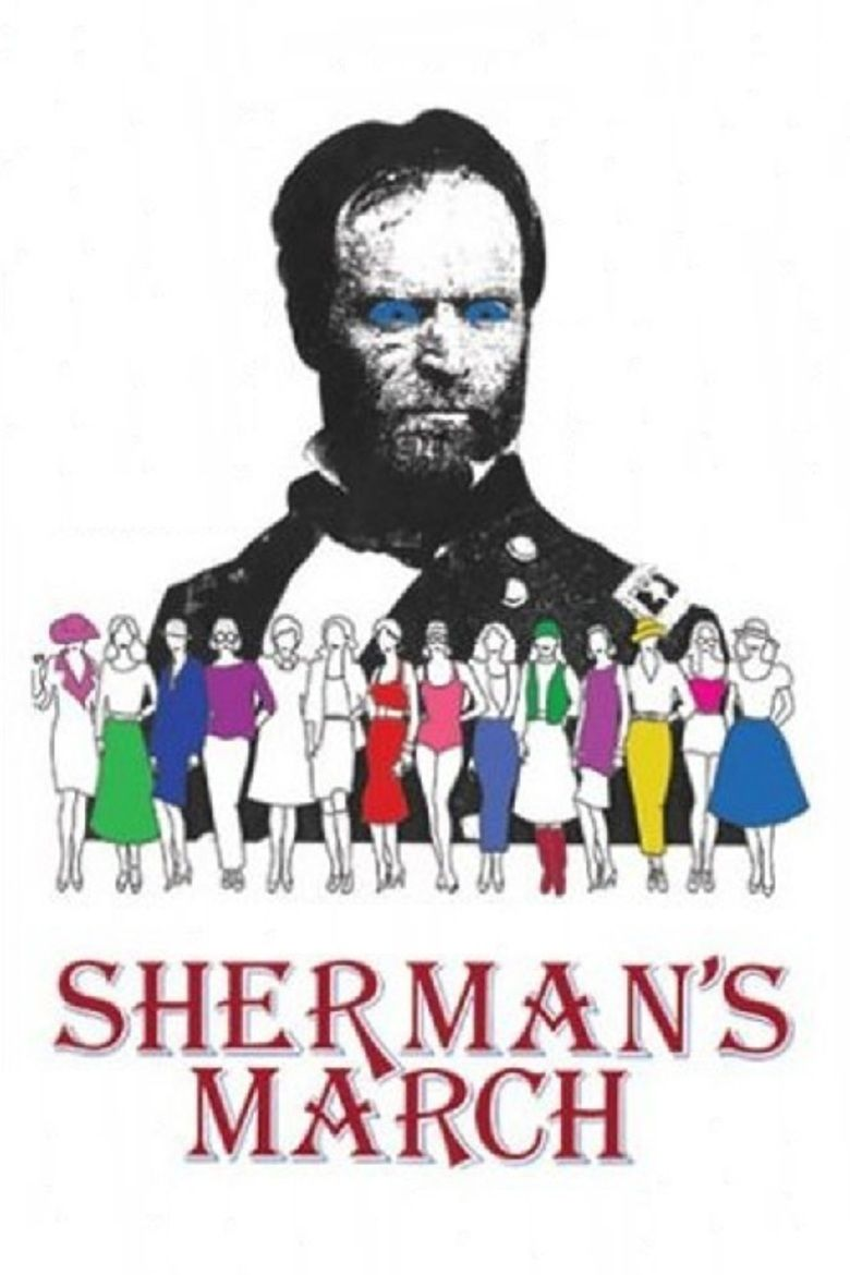 Shermans March (1986 film) movie poster
