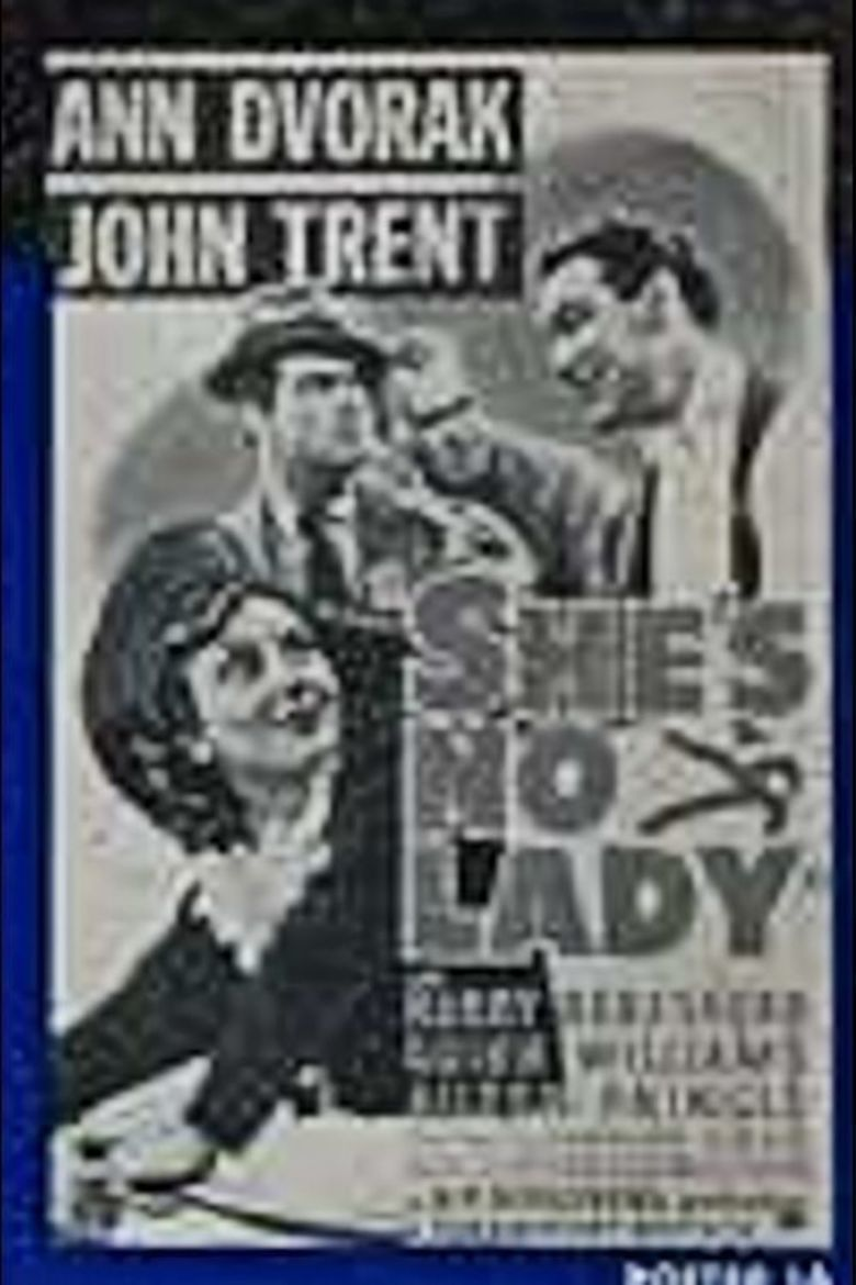 Shes No Lady movie poster
