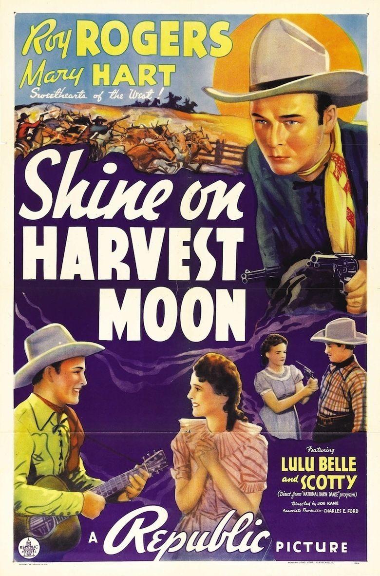 Shine On, Harvest Moon (1938 film) movie poster