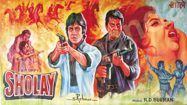 Sholay movie scenes