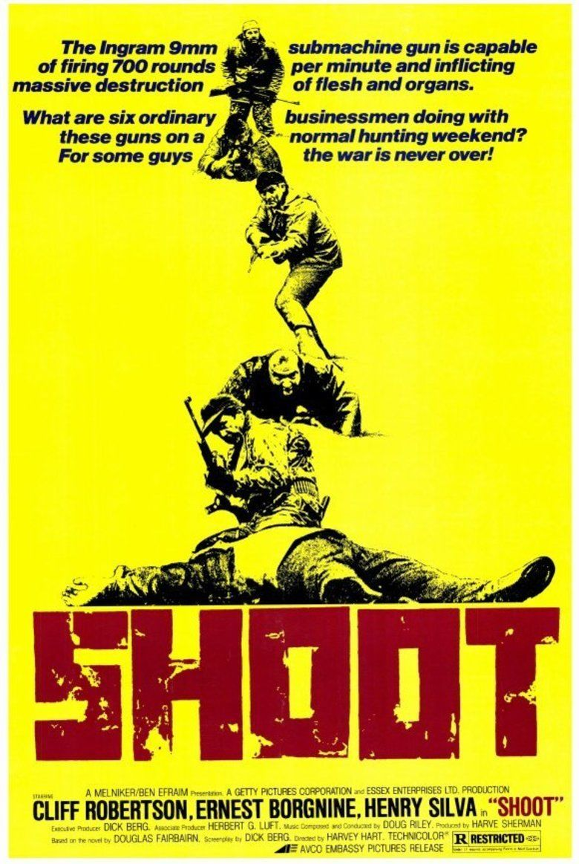 Shoot (film) movie poster