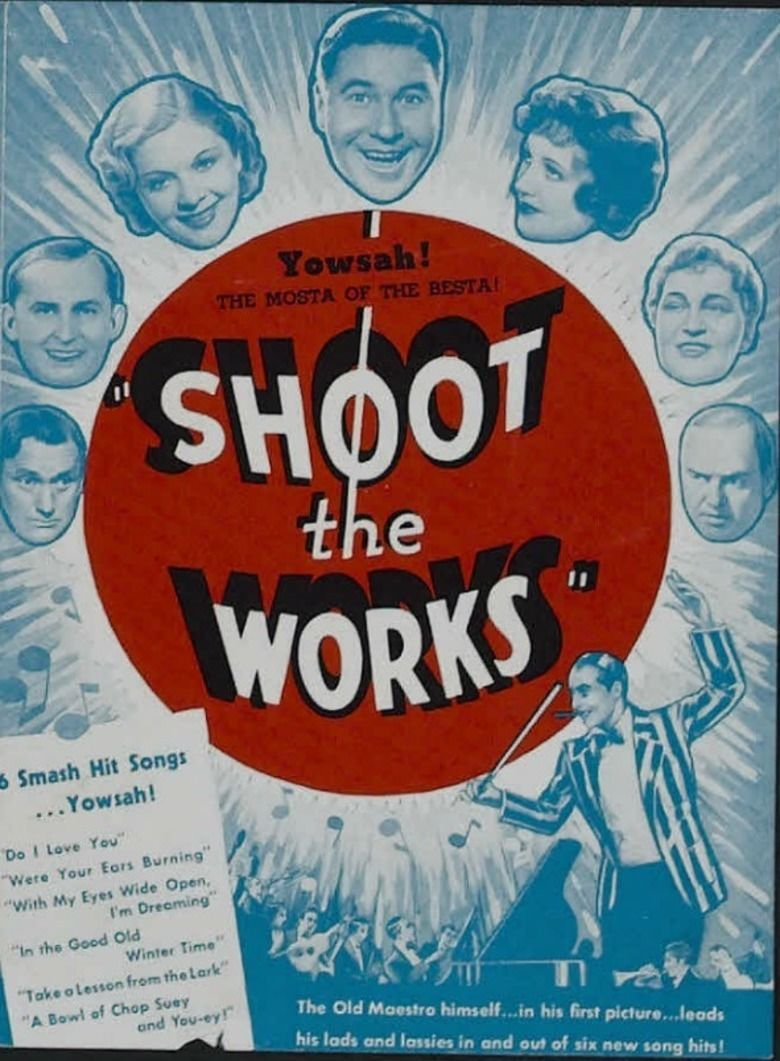 Shoot the Works (film) movie poster