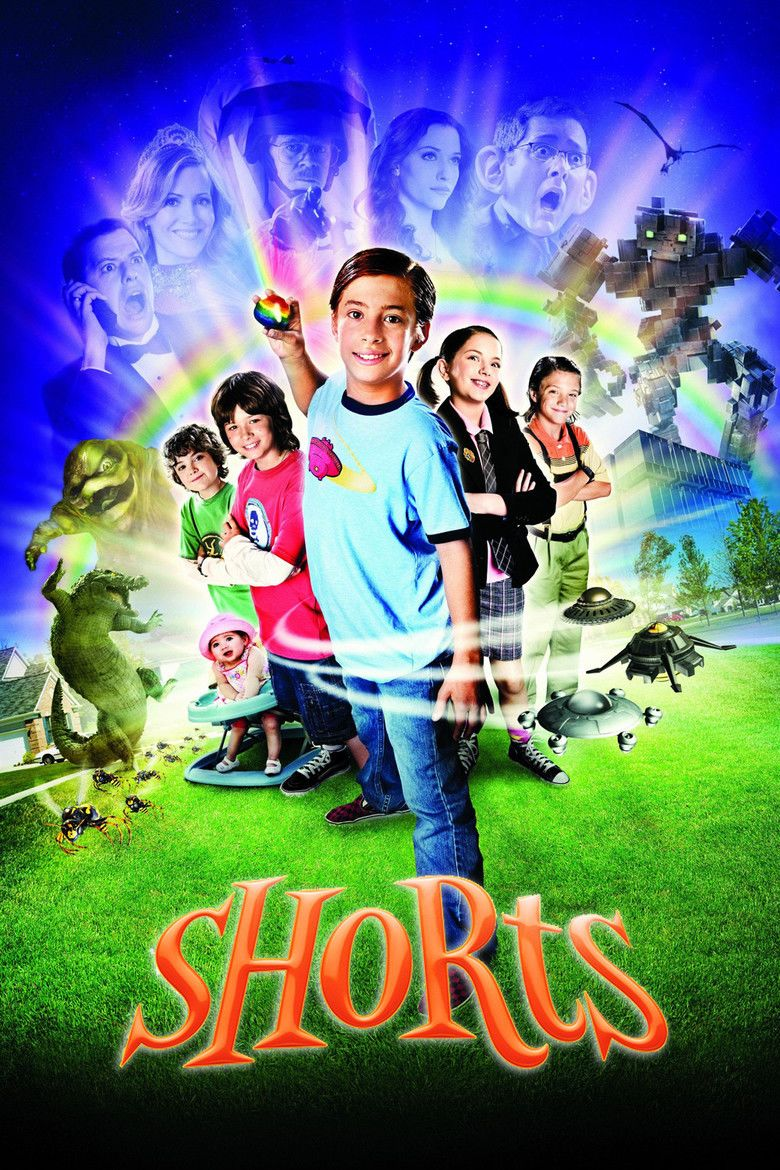 Shorts: The Adventures of the Wishing Rock movie poster