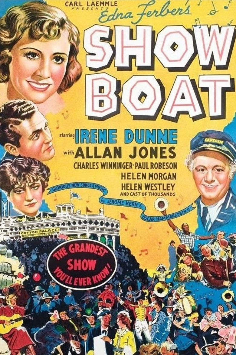Show Boat (1936 film) movie poster