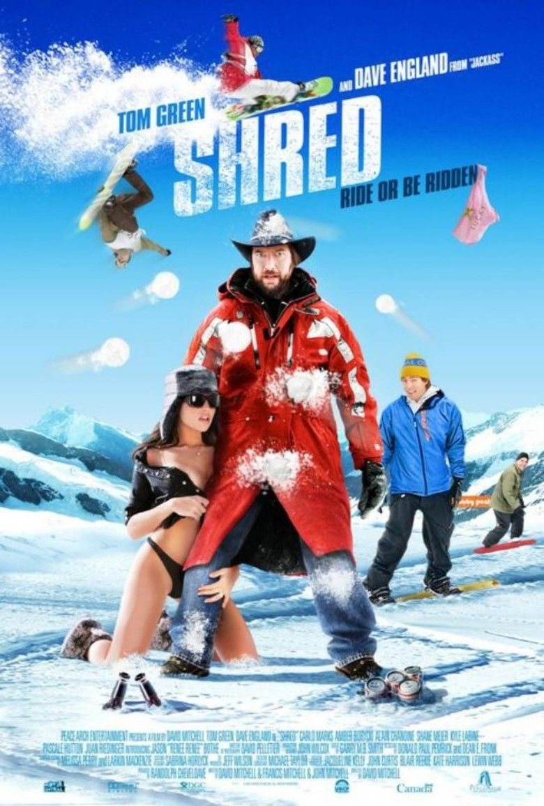 Shred (film) movie poster