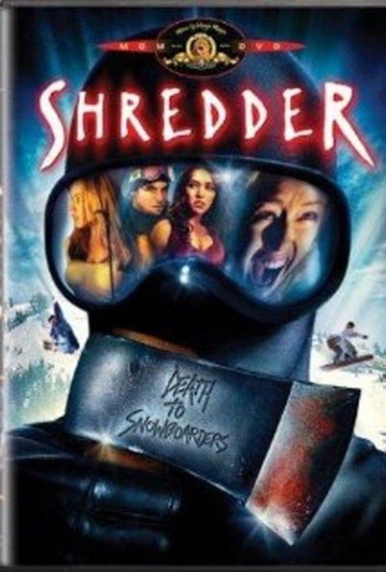 Shredder (film) movie poster