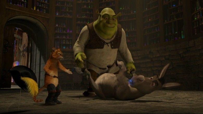 Shrek 2 movie scenes