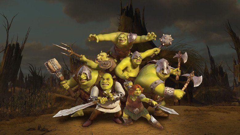 Shrek Forever After movie scenes