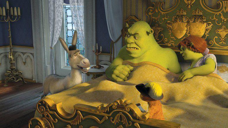 Shrek the Third movie scenes