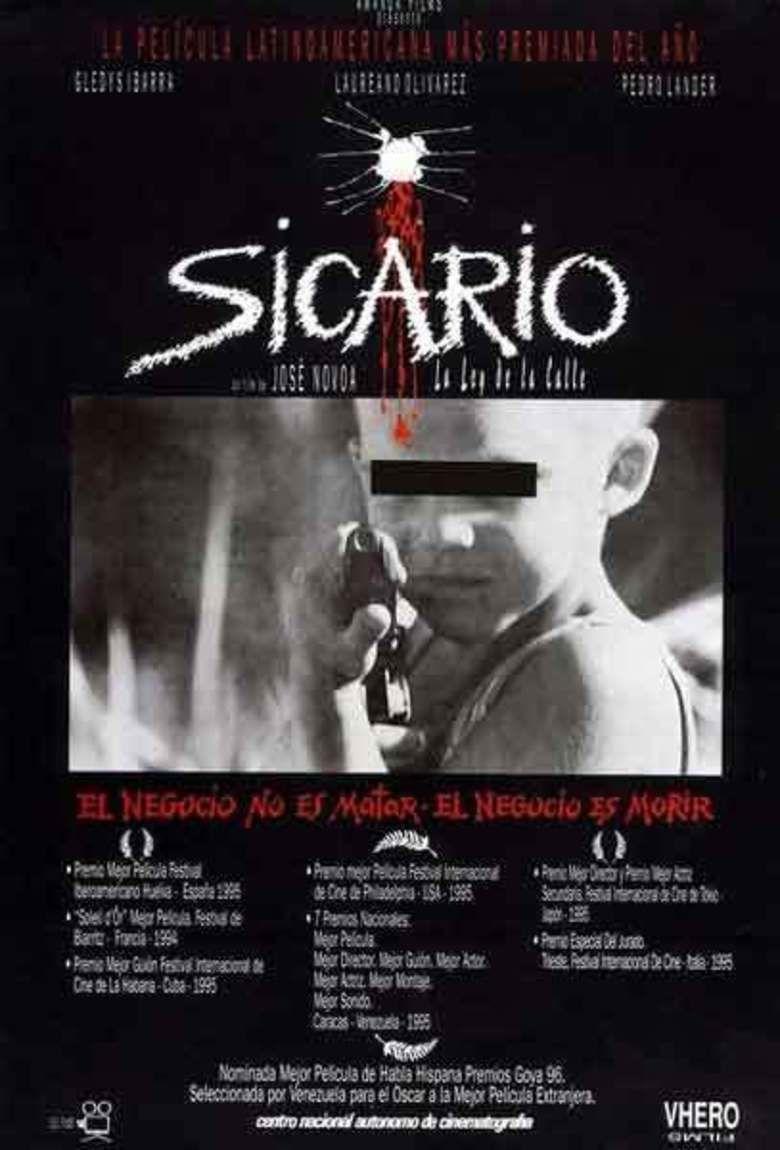 Sicario (1995 film) movie poster