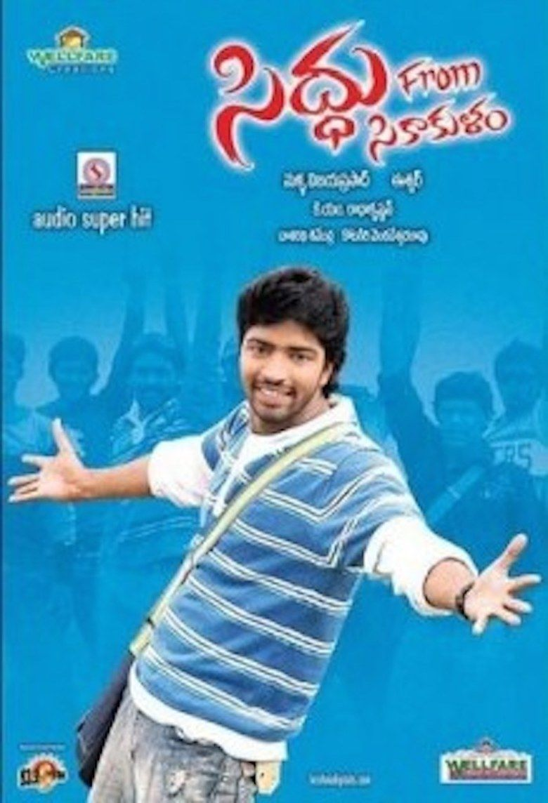 Siddu from Sikakulam movie poster
