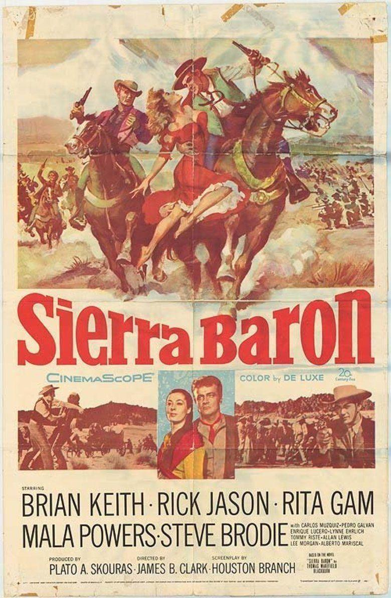 Sierra Baron movie poster