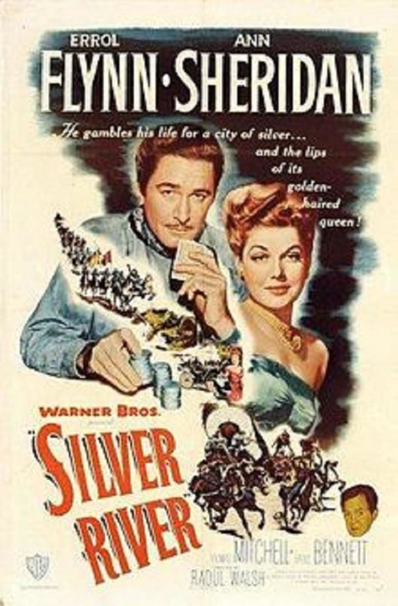 Silver River (film) movie poster