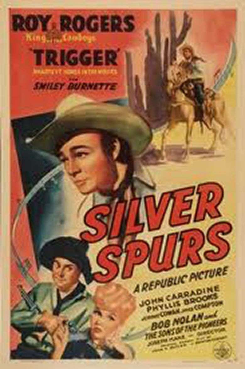 Silver Spurs (film) movie poster