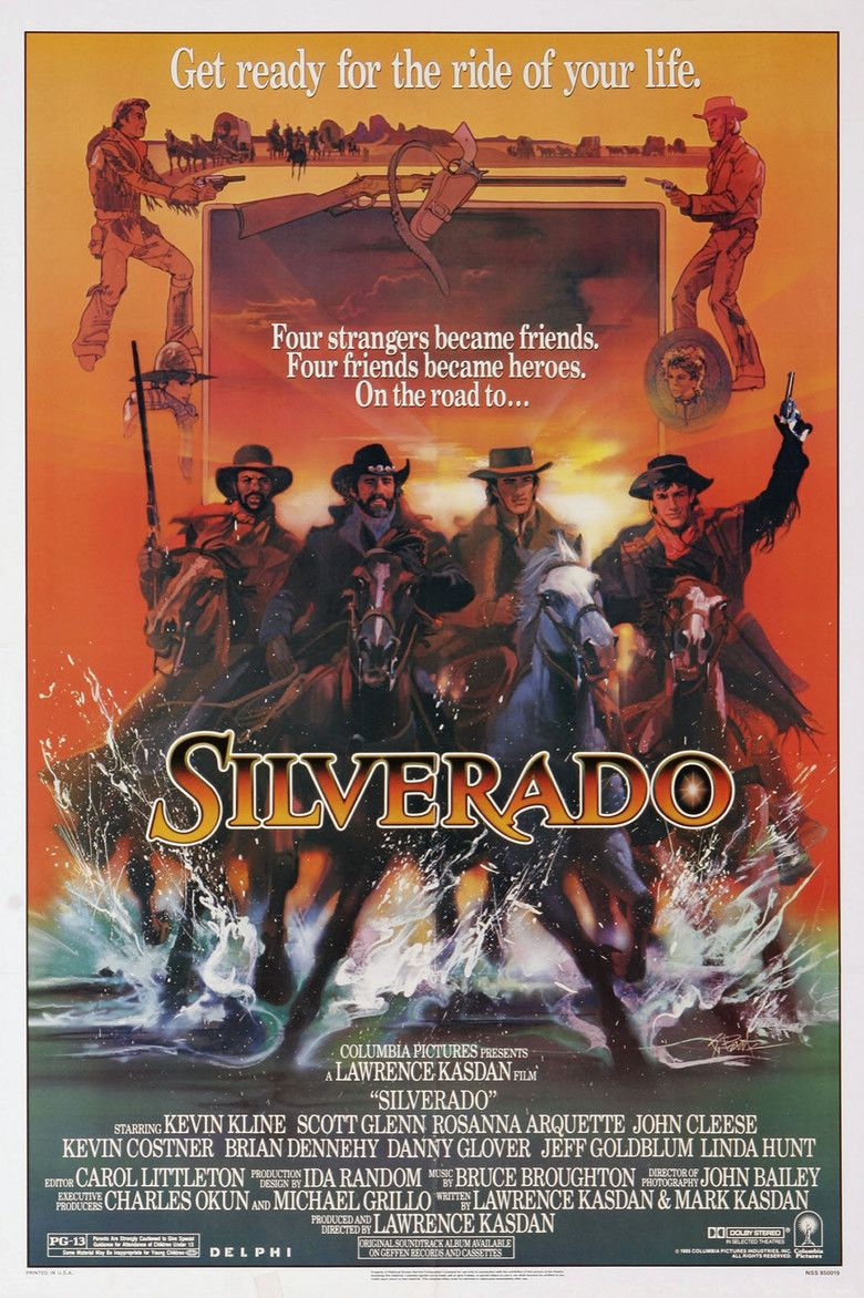 Silverado (film) movie poster